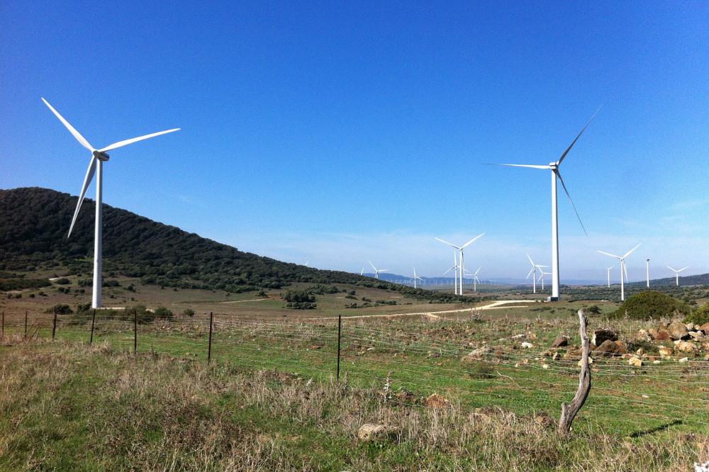 Windturbines Spanje