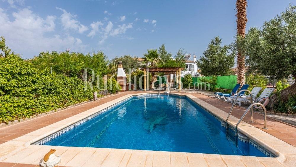 Confortable maison de vacances avec un rapport qualité-prix difficilement égalable à Taberno - ALM1032