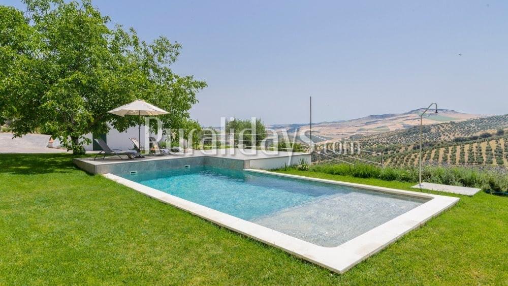 Luxury villa with astonishing views in Montecorto - MAL2739