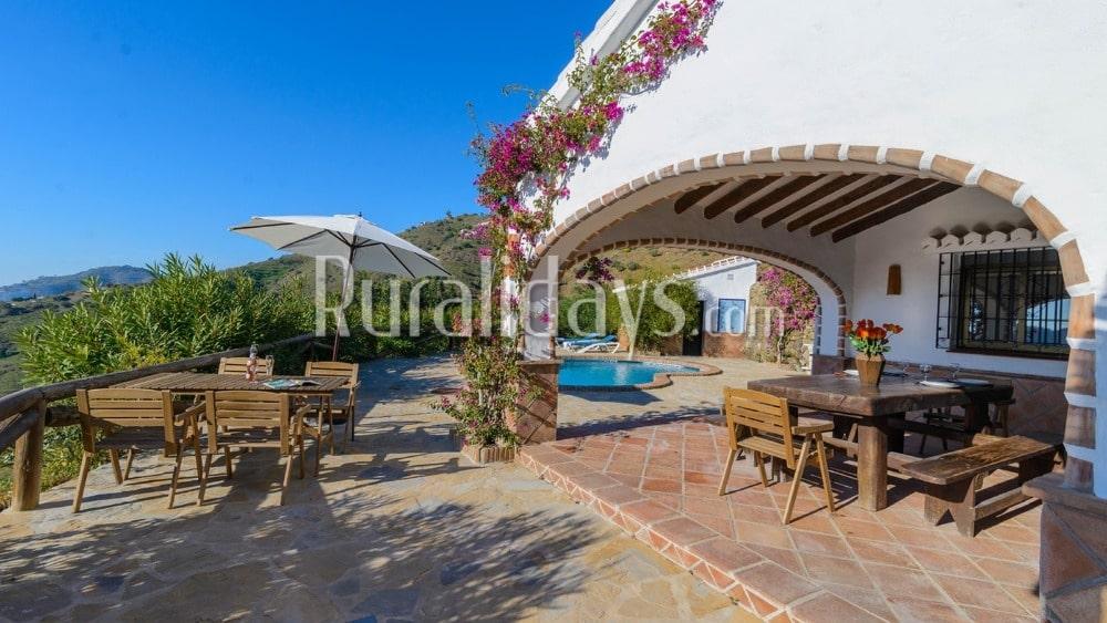 Pittoresk vakantiehuis aan de Costa del Sol in Competa - MAL0589