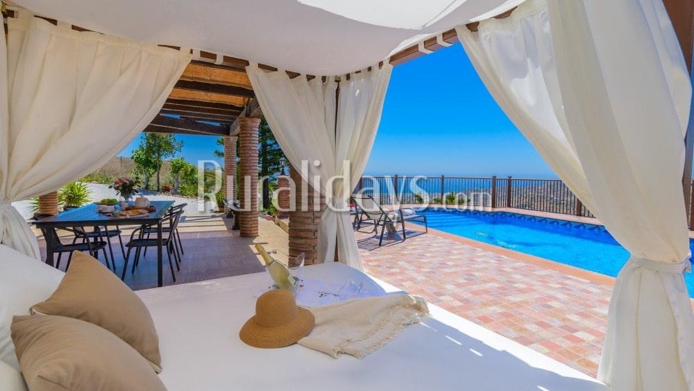 Vakantiehuis met uitzicht op zee in Torrox (Malaga) - MAL1518