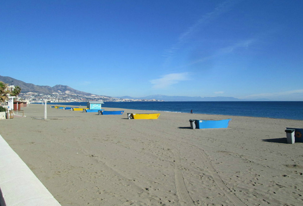 Beach of El Castillo (Fuengirola, Malaga) to go with dogs