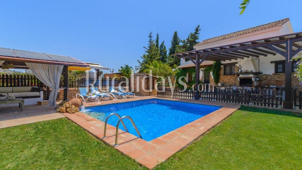 Casa rural con piscina privada climatizada en Mijas - MAL0037