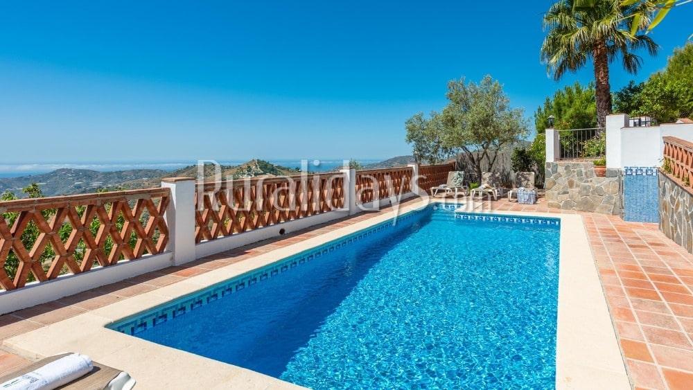 Goedkoop vakantiehuis met uitzicht op zee in Frigiliana - MAL0180