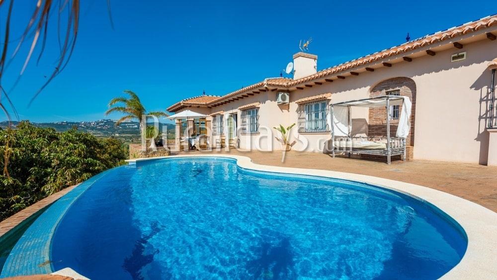 Lujosa villa con magníficas vistas en Mijas (Málaga) - MAL0799