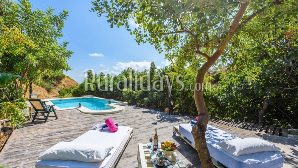 Picturesque holiday home in a characteristic surrounding in Guaro - MAL0640