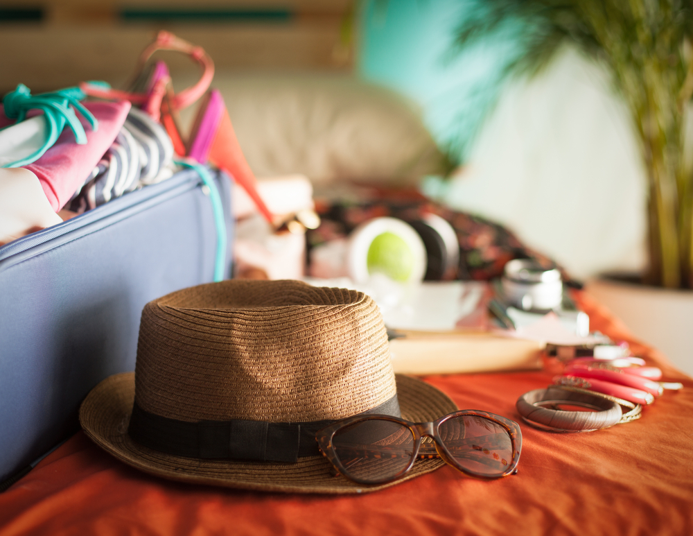 Luggage for summer in Andalucia
