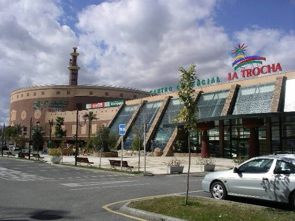 Shopping centre La Trocha in Coín (Malaga)