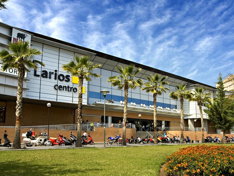 Shopping centre Larios Centro in Malaga