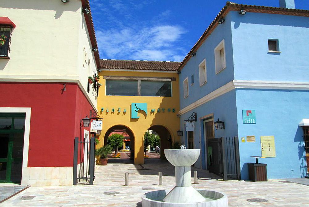 Shopping centre Plaza Mayor in Malaga