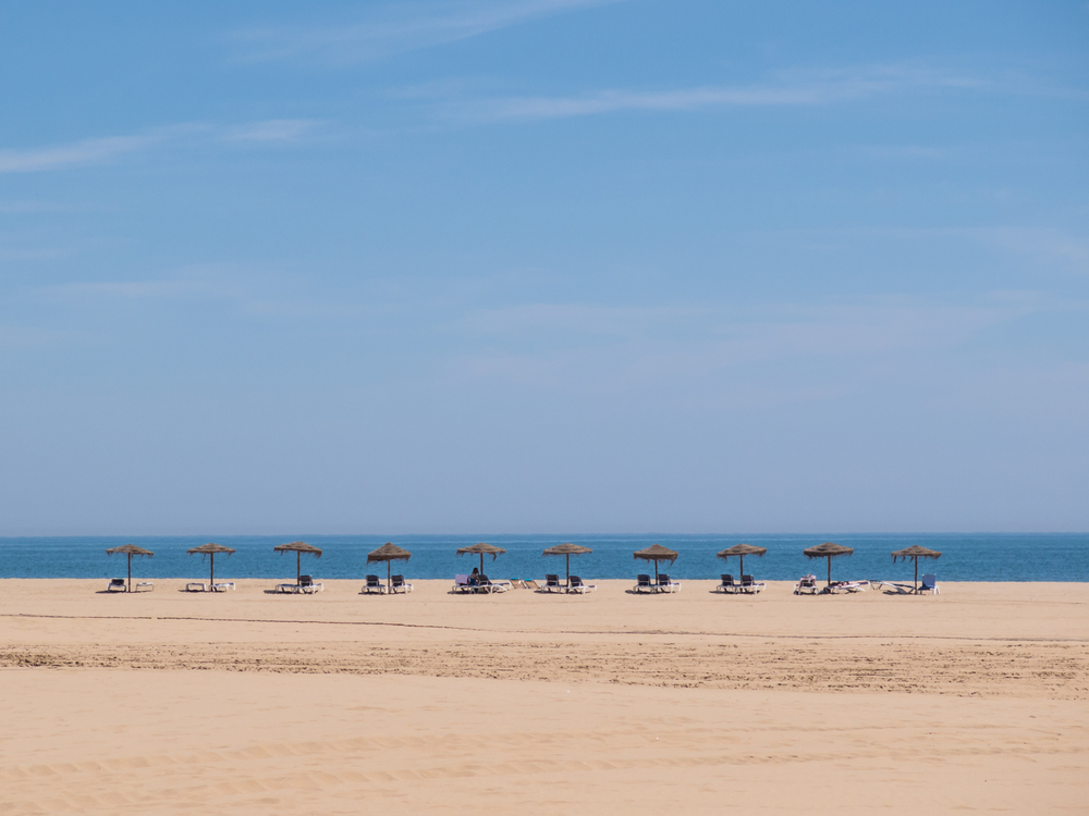 Sunbathe on the beaches in Costa de la Luz