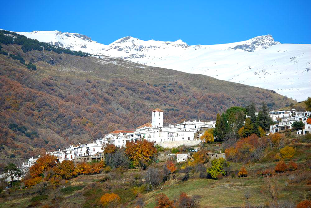 Capileira in the Alpujarras in Granada