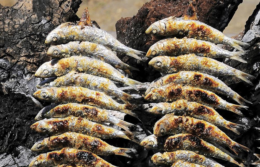 Espetos de sardinas in Costa del Sol