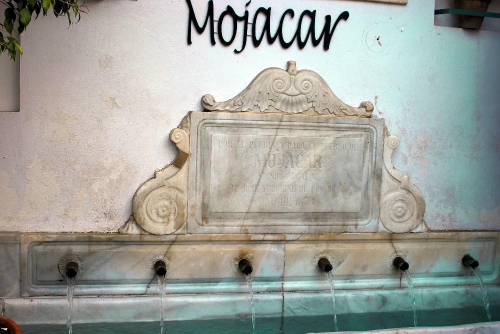 Fuente Mora à Mojacar