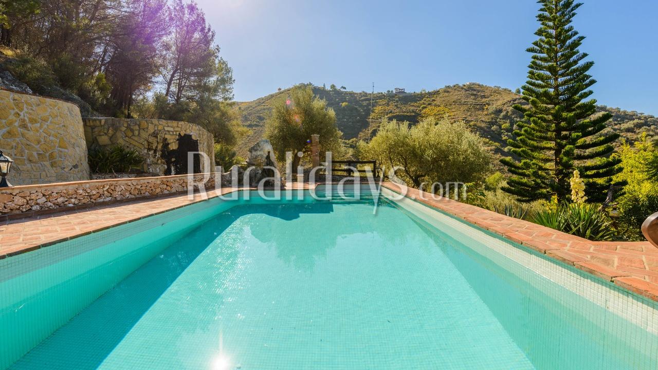 Casa rural con encanto en Frigiliana (Málaga)