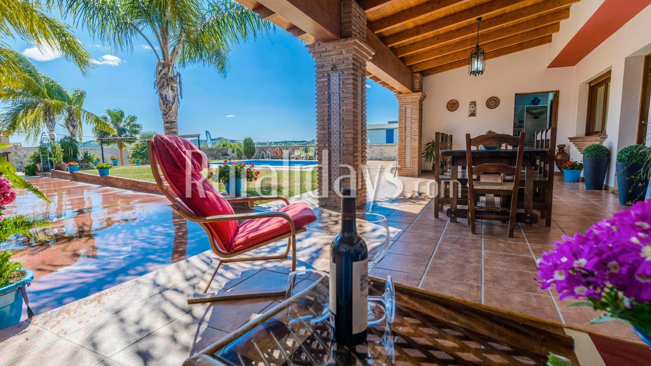 Casa rural con encanto en Mijas (Málaga)
