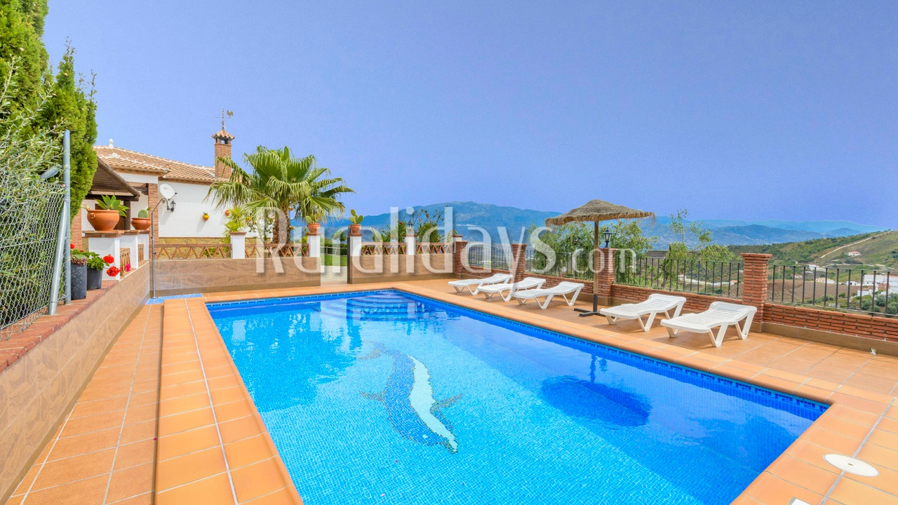 Goedkoop vakantiehuis in Iznate, Malaga