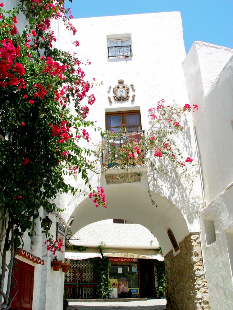 Porte de la villa à Mojacar