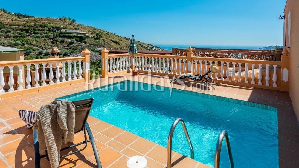 Accueillante maison de vacances avec vue sur la mer à Almuñecar - GRA0882