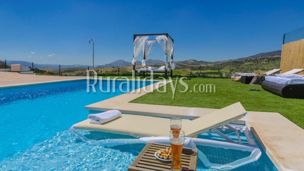 Jacuzzi-provided holiday rental with fantastic outdoor in Villanueva de la Concepción - MAL2571