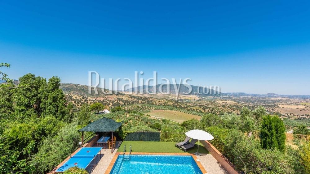 Villa con sorprendentes vistas en El Gastor - CAD0472