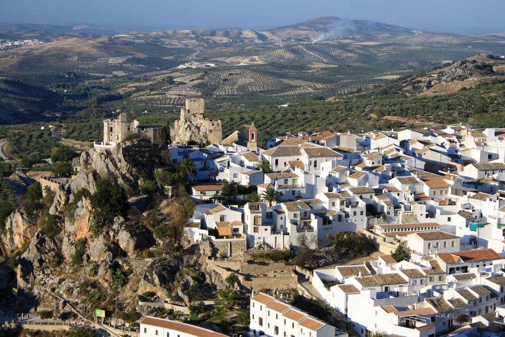 The town of Zuheros in Cordoba