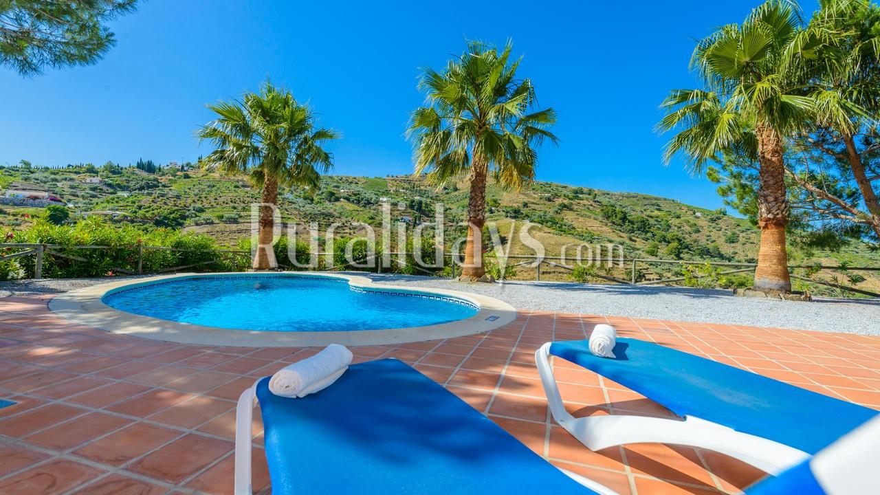 Goedkoop vakantiehuis in Competa (Malaga)