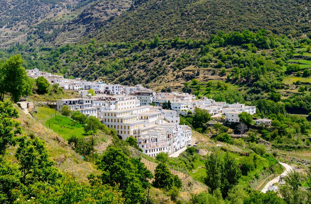 Trevélez van de Alpujarras in Granada
