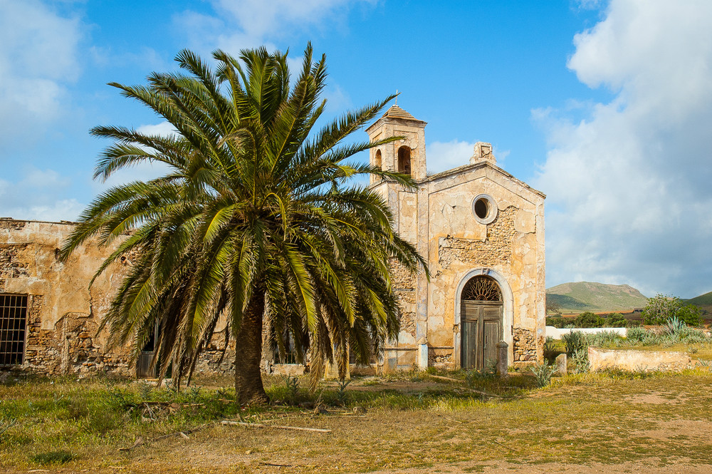 Cortijo del Fraile in the Cabo de Gata Natural Park