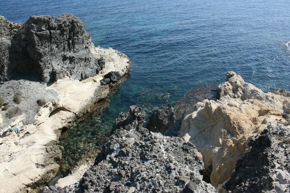 Cove in the Cabo de Gata Natural Park