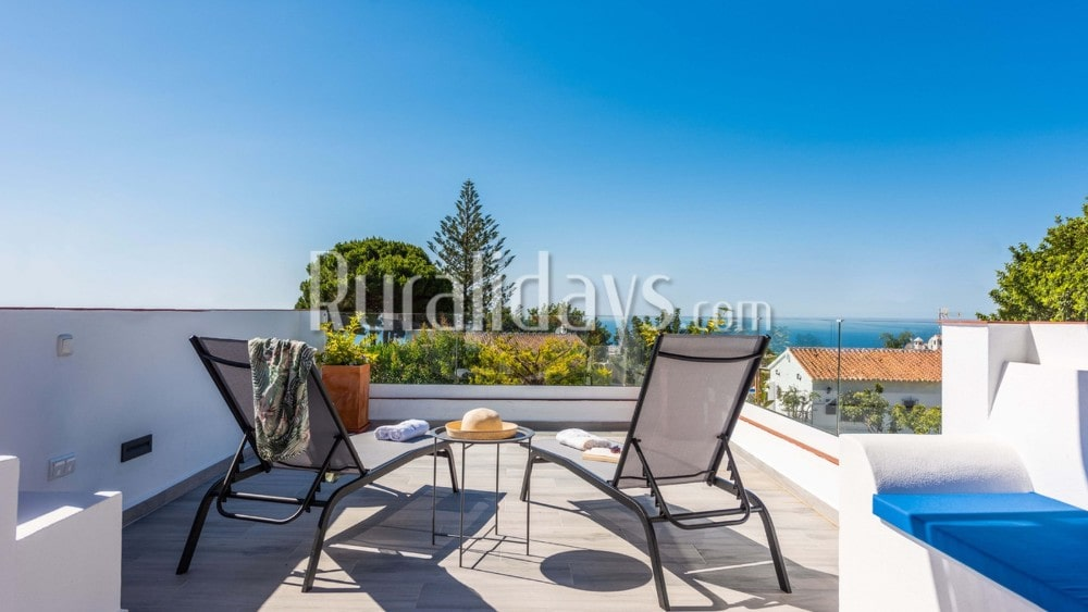 Holiday home with impressive views in Nerja - MAL3042