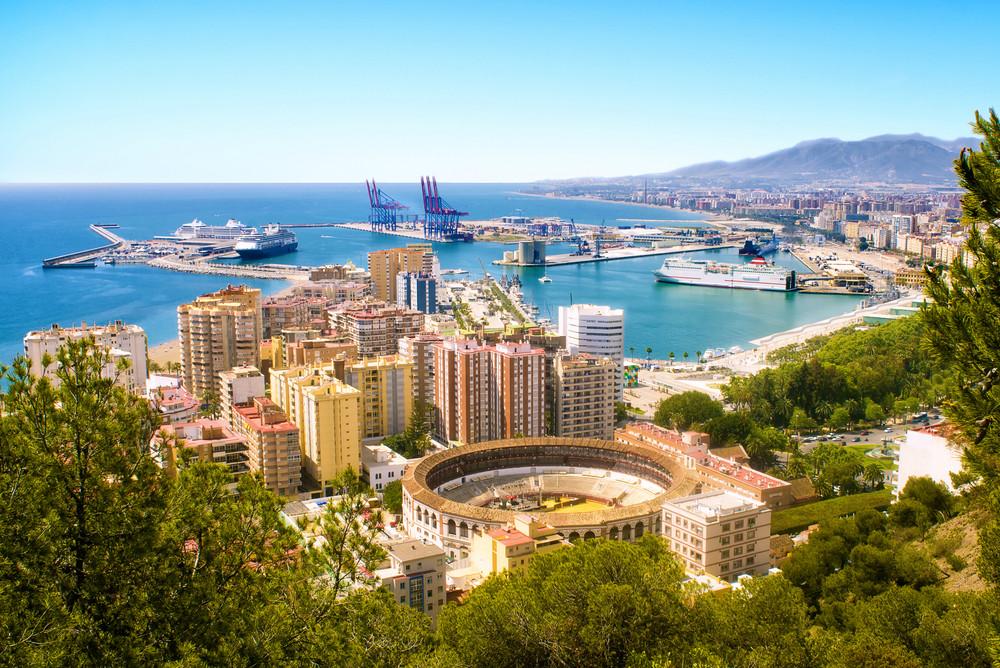 Que faire en Andalousie - Vues de Malaga