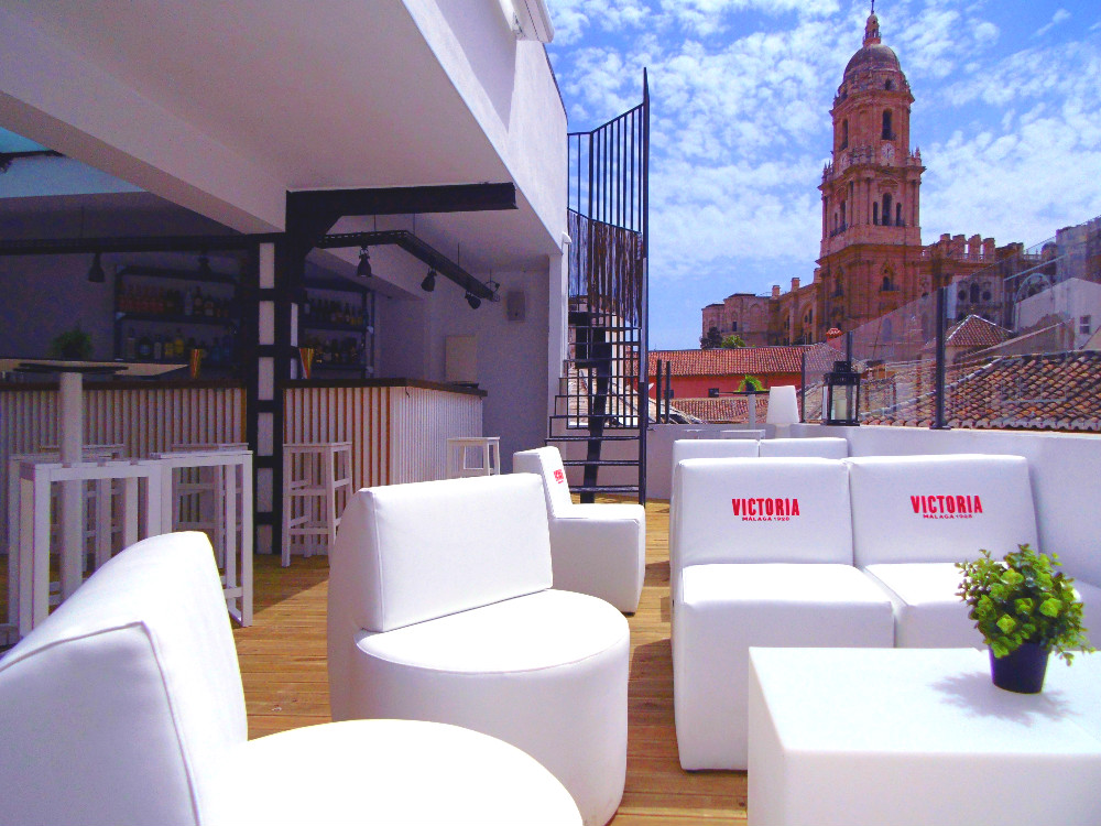 The 5 Best Rooftop Terraces In Malaga Andalucia