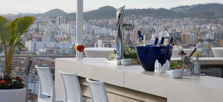 Top 5 mejores terrazas de m laga for Kfc terrazas de mayo