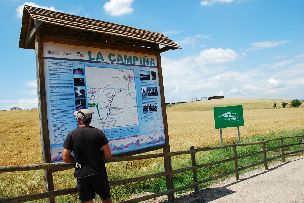 Via Verde de la Campiña van Cordoba
