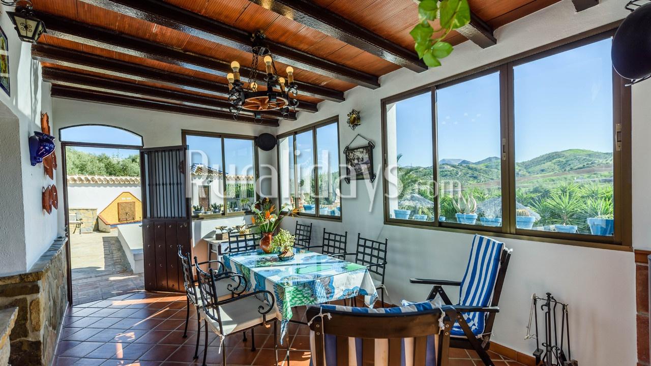 Casa rural con encanto en Ardales (Málaga)