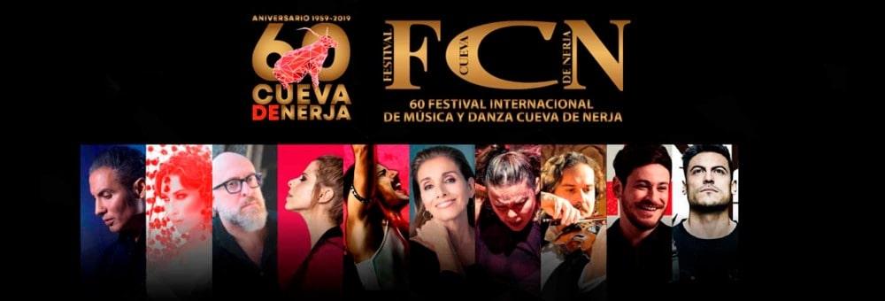 60 Festival Internacional de Música van het Cueva de Nerja
