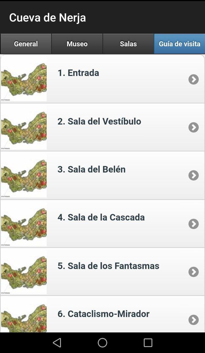 Cuevas de Nerja App 2