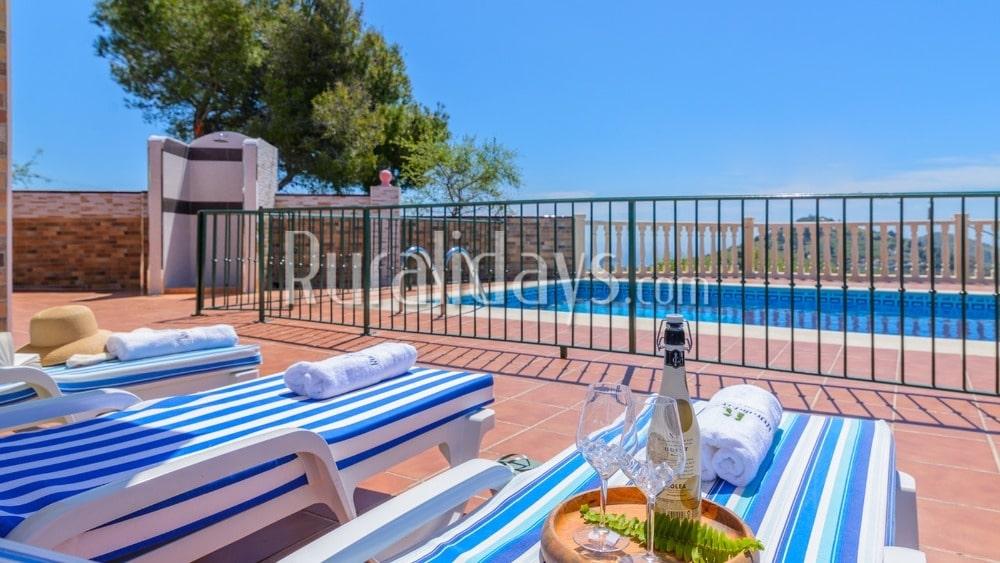 Encantadora villa de vacaciones entre Frigiliana y Cómpeta - MAL1231