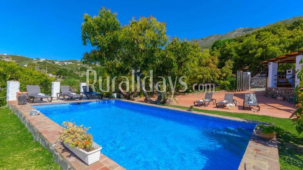 Splendid charming villa in the hills of Frigiliana - MAL1223