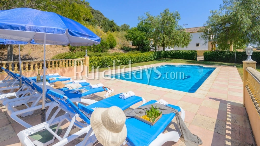 Vakantiehuis met indrukwekkend panoramisch uitzicht in Ronda - MAL0220