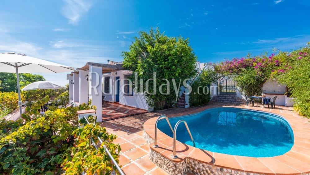 Villa im andalusischen Stil und in privater Umgebung in Frigiliana - MAL1619