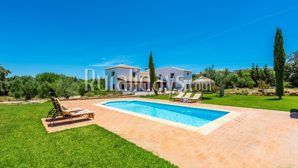 Villa tegenover de bergen van de Serranía de Ronda - MAL2947
