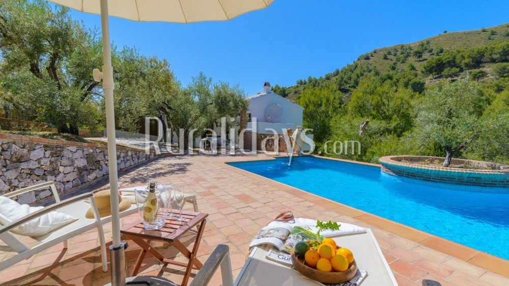 Welcoming villa surrounded by nature in Frigiliana - MAL1919