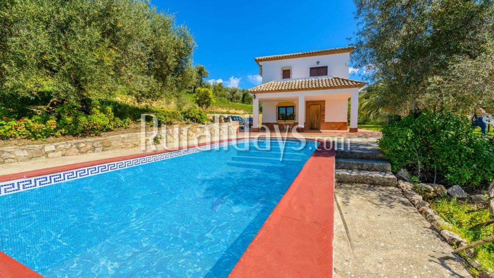 Coquettish villa with vintage decoration in Ronda