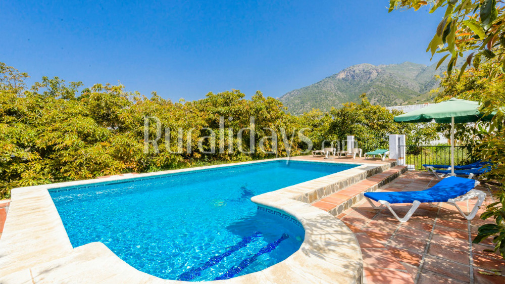 Spacious holiday home in the hills of Frigiliana