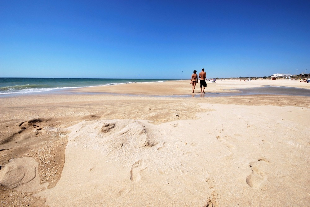 Beach of El Palmar in Vejer de la Frontera - best beaches in andalucia