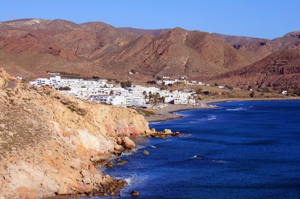 Beach of Las Negras in Las Negras - best beaches in andalucia
