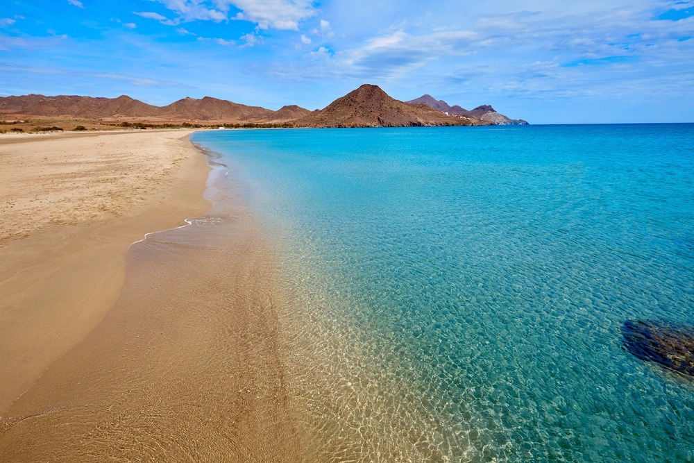 Beach of Los Genoveses in San José - best beaches in andalucia