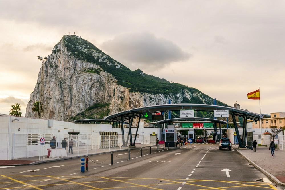 Grenzübergang von Gibraltar